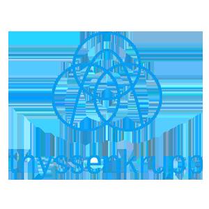 ティッセンクルップのロゴ